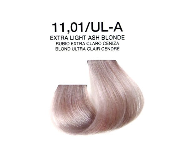 Cream Hair Color - Extra Light Ash Blonde