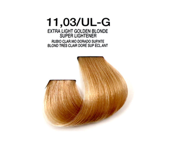 Cream Hair Color - Extra Light Golden Blonde Super Lightener