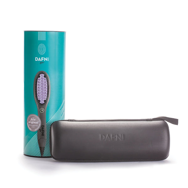 DAFNI GO - Hair Straightening Ceramic Brush - DAFNI AUSTRALIA