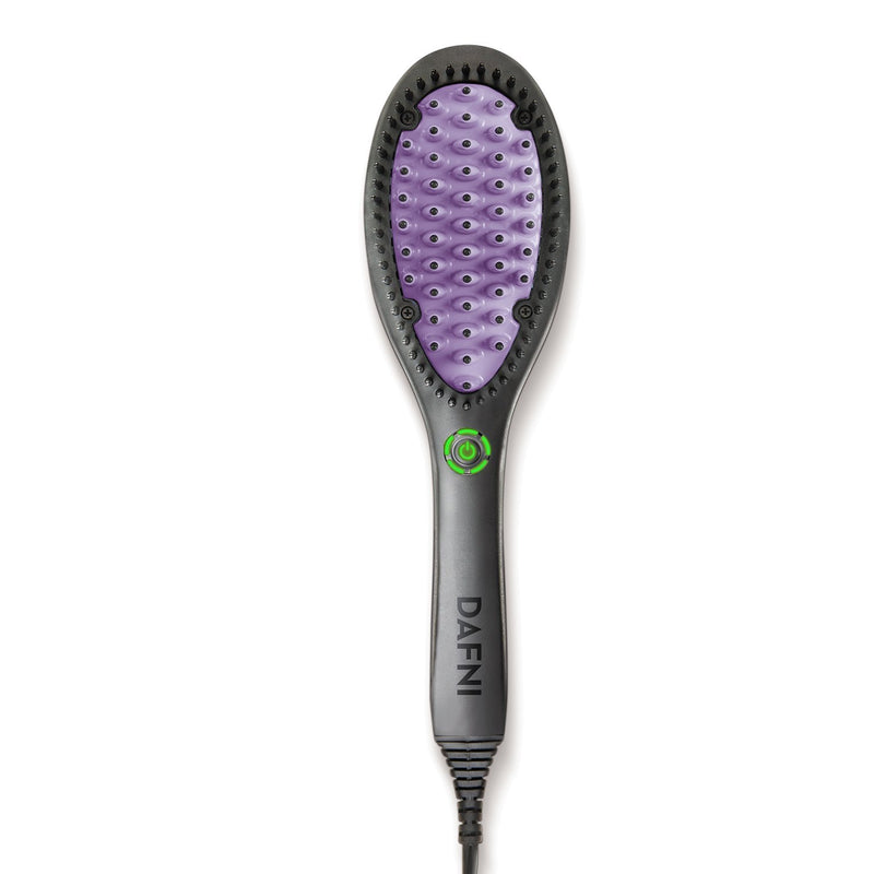 DAFNI ORIGINAL - Hair Straightening Ceramic Brush - PLUS Bonus Swarovski Travel Bag - DAFNI AUSTRALIA