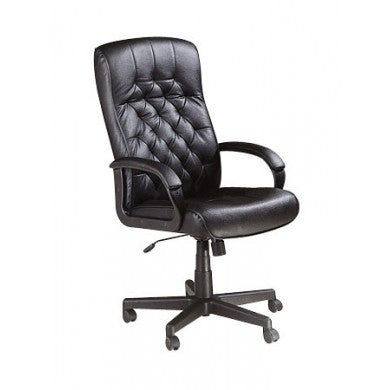 Acme Furniture Charles Black Leather Pneumatic Lift Chair