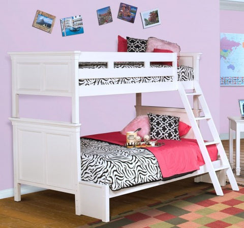 Tamarack White Twin/Full Bunk bed