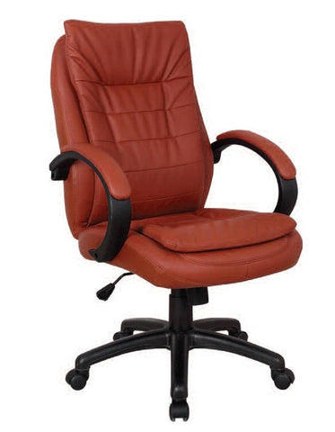 Red Executive Chair with Pneumatic Lift