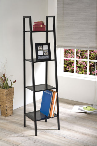 Eason Black Finish Metal Shelf
