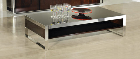 Noble Modern Ebony Lacquer Coffee Table