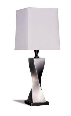Table Lamp Silver Modern
