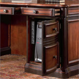 Pergola Traditional Kneehole Credenza and Hutch