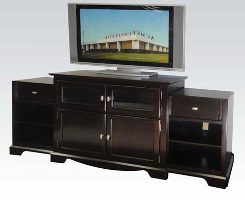 LAMESHA ESPRESSO TV STAND WITH BUILD IN SIDE CABINETS
