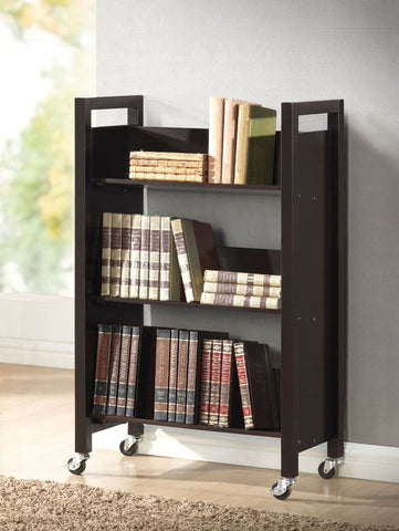 Berton Bookshelf Cart (Multiple Colors) By ACME
