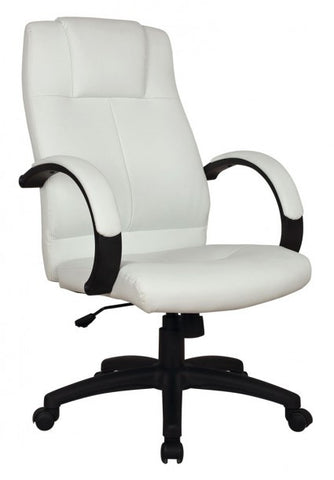White Basil Office Chair