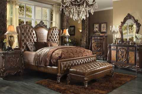 Versailles Cherry Oak Bedroom Set | Empire Furniture Home Decor & Gift