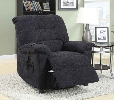 Power Lift Recliner - Dark Grey