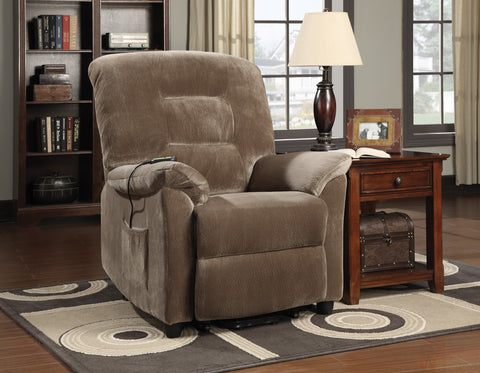 Brown Power Lift Recliner