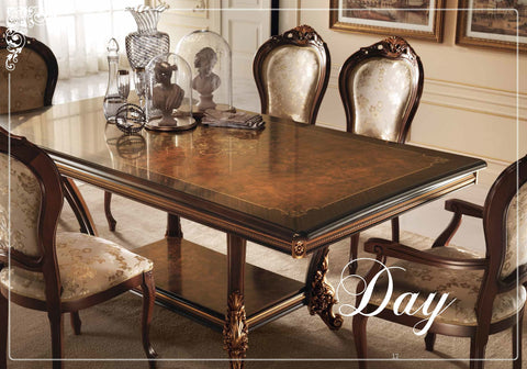 Sinfonia Day Arredoclassic Dining Room, Italy - Empire Furniture Home Decor & Gift