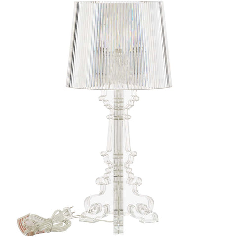 French Petite Acrylic Acrylic Table Lamp - Empire Furniture Home Decor & Gift