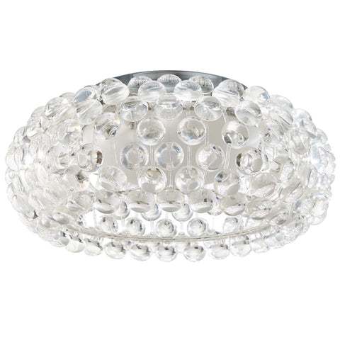 "Halo 19"" Acrylic Ceiling Fixture - Empire Furniture Home Decor & Gift"