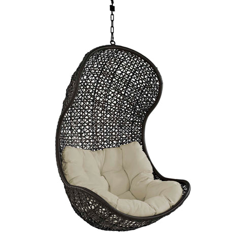 Parlay Swing Outdoor Patio Fabric Lounge Chair - Empire Furniture Home Decor & Gift