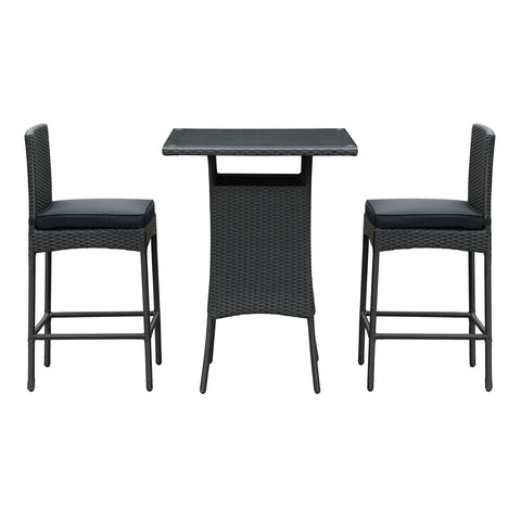 Cerveza 3 Piece Outdoor Patio Pub Set - Empire Furniture Home Decor & Gift