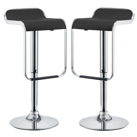 LEM Bar Stool Vinyl Set of 2 - Empire Furniture Home Decor & Gift