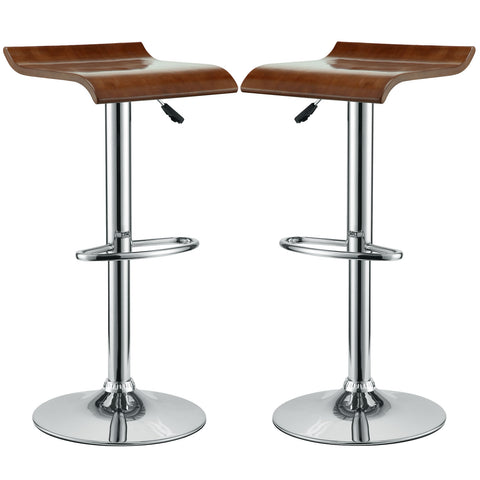 Bentwood Bar Stool Set of 2 - Empire Furniture Home Decor & Gift