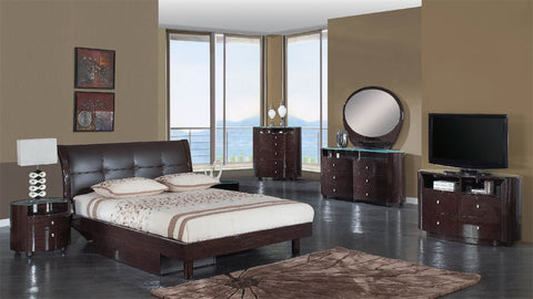 ENCORE Bedroom Set - Wenge Color