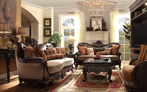 Traditional Imperial Sofa Set