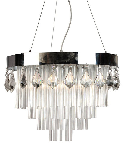 S1004 Modern Crystal Ceiling Light