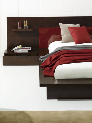 Rimini Contemporary Walk-On Platform Bed - Empire Furniture Home Decor & Gift