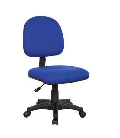 Simon Blue Fabric Office Chair