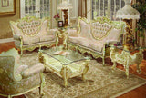 8 PC French Provincial Sofa Set Pol Rey