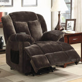 Power Lift Recliner in Chocolate