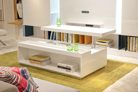 Modrest P210A - Modern White Coffee Table