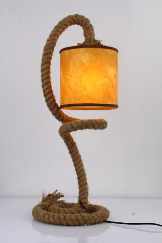 Modrest Carrick Modern Rope Table Lamp