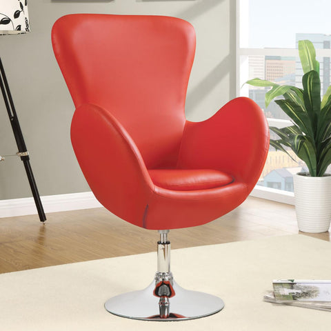 Red Swivel Leisure Chair - Empire Furniture Home Decor & Gift