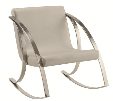 Modern Rocking Accent Chair  Empire Furniture Home Decor