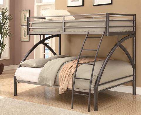 Twin-over-Full Contemporary Bunk Bed