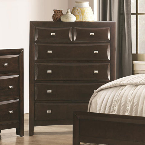 Cloverdale 6 Drawer Chest with Two Size Drawers