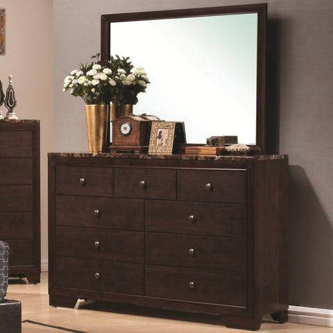 Conner Dresser with Landscape Mirror