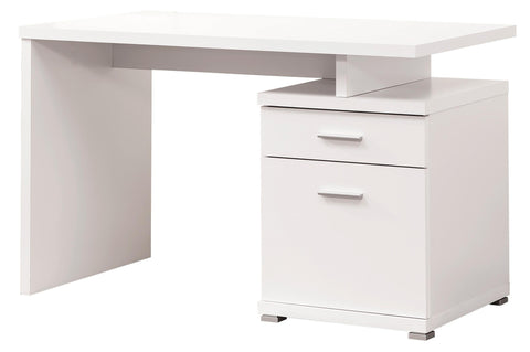 Contemporary Desk with Cabinet