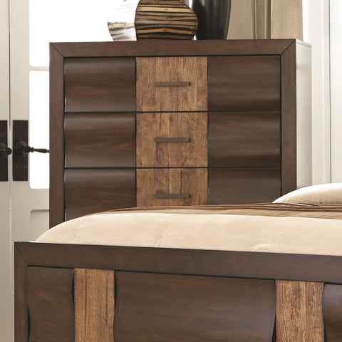 Dublin Chest of Drawers with Convex Curved Drawer Fronts