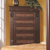Grand Prado Tall Chest w/ 5 Drawers