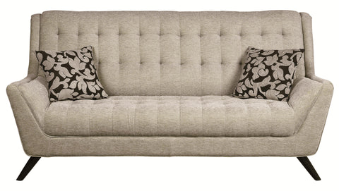 Natalia Retro Sofa w/ Flared Arms