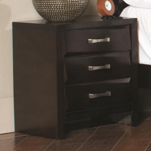 Palmetto Night Stand with 3 Drawers
