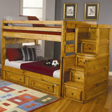Wrangle Hill Full Over Full Bunk Bed