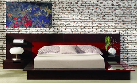 Rimini Contemporary Walk-On Platform Bed