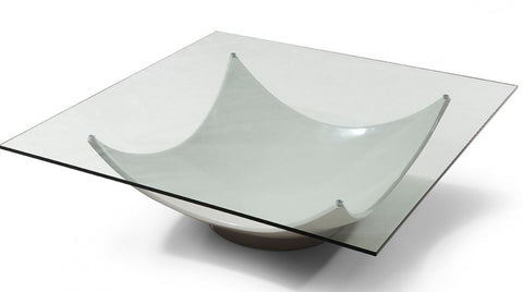 Sunset Modern White Coffee Table