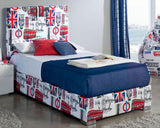 ESF Furniture 701 London Youth Bedroom Set