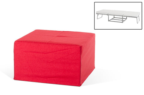 Divani Casa Incognito Modern Fabric Ottoman Sofa Bed (Many COLORS)