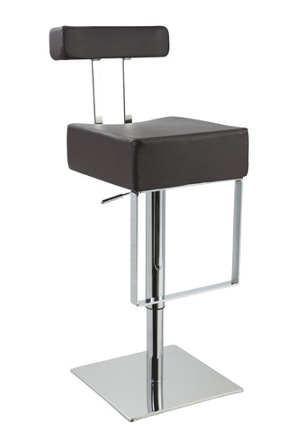 T1054 Eco-Leather Contemporary Bar Stool