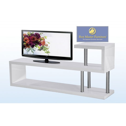 "TV Stand in Lacquer Up to 52"" TV Screen Compatible (Multiple Colors)"